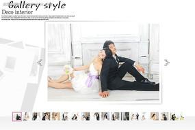 婚纱照相册flash图片轮播