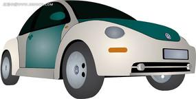 甲壳虫汽车手绘图
