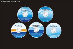 国强电子公司光盘封面