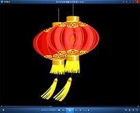 大红灯笼视频素材