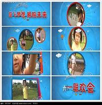 小女孩儿童节视频