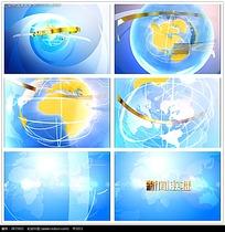 地球片头视频素材