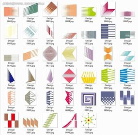 幾何圖案圖標設計