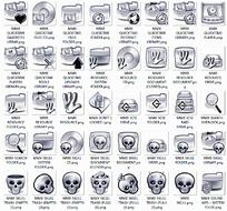 骷髅头网站网页文件夹图标设计