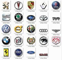 网页汽车标志图标