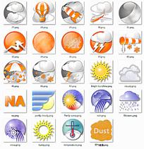 创意天气图标设计