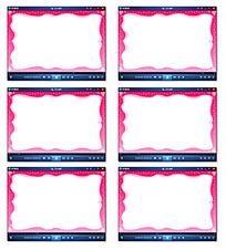 粉色边框电子相册视频
