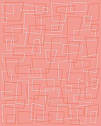 梯形长方形框背景花纹