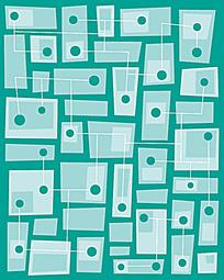 长方形花纹素材