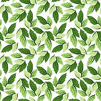 绿叶矢量底纹素材