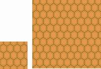 蜂窝型底纹素材