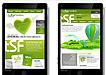 绿色系手机APP界面