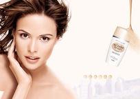 化妆品宣传单模板设计psd素材