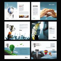 商务公司信息宣传册PSD素材