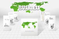 商务科技模板PSD素材