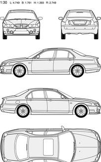 MG名爵汽车8
