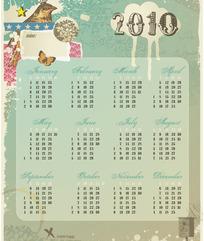 2010古典日历