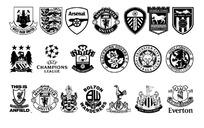 俱乐部公会足球标志设计