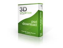3D软件包装盒效果图模板