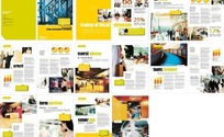 公司画册版式设计模板