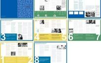 投资公司画册版式设计模板