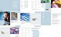 电子画册版式设计模板