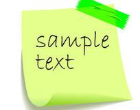 实用贴纸元素矢量素材免费下载