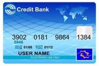 银行卡片设计模板免费下载