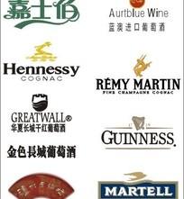 各类酒标志