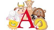 字母A与动物