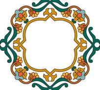 蒙古古典边框