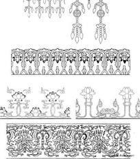 花饰木雕边框