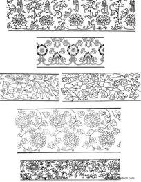 装饰性纹饰花纹