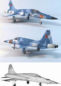 战斗机3D素材