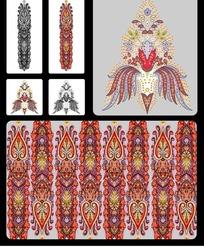 欧式典雅素材纹样