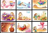 六一儿童节卡通图片