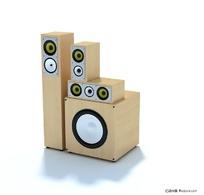 3D高级音箱模型