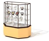 超市珠宝展示柜3D模型