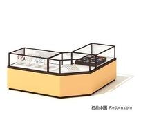 精美珠宝展示柜3D模型