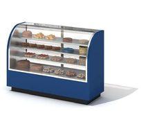 商场熟食物品柜3D模型