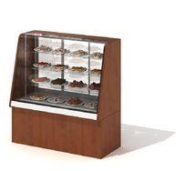 商场熟食展示柜3D模型