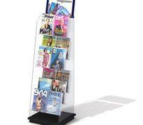 商场杂志展示柜3D模型