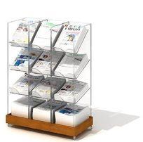 书籍展示柜3D模型