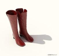3D精美女性靴子模型