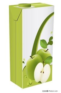 青苹果果汁饮料包装