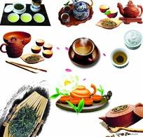 中国茶具图片素材