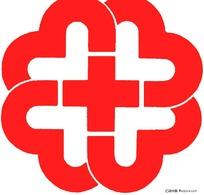 医院红十字标(白底红标)