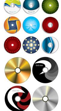 CD封面矢量素材