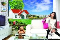 PS房地产设计合成素材