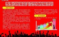 季季红企业发展展板